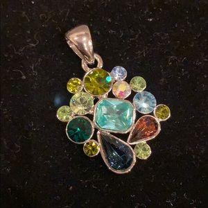 Lia Sophia multi colored pendant